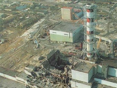 Meltdown in Chernobyl