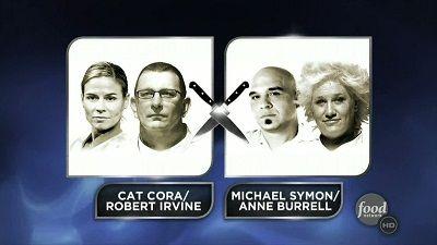 Symon/Burrell vs. Cora/Irvine