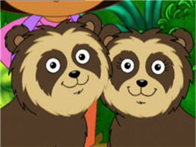 Chito and Rita the Spectacled Bears