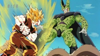 A Battle of the Highest Level! Defeat Cell, Son Goku