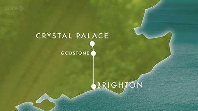 Brighton to Crystal Palace