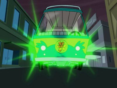 It's Mean, It's Green, It's the Mystery Machine