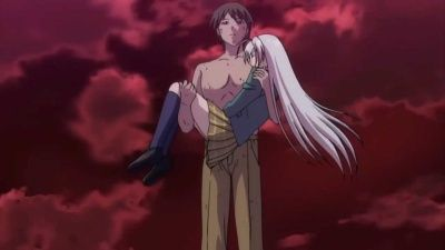 Tsukune and a Vampire