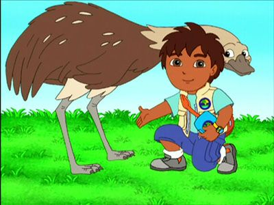 Rhea Is an Animal Rescuer