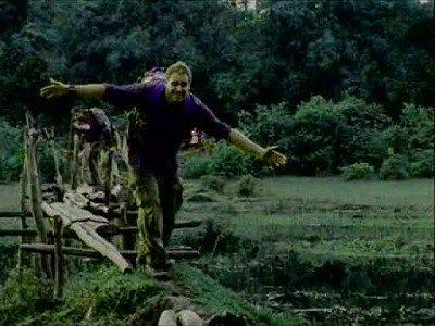 Wild Man & Swamp Dinosaur