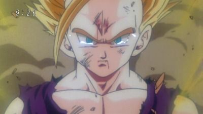 The Tears that Disappeared into the Sky! The Angry Super Awakening of Gohan