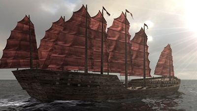 Ancient Chinese Super Ships