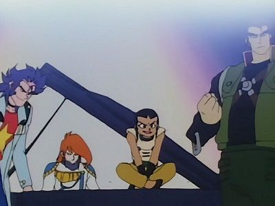 Big Trouble! Domon vs. Big 5
