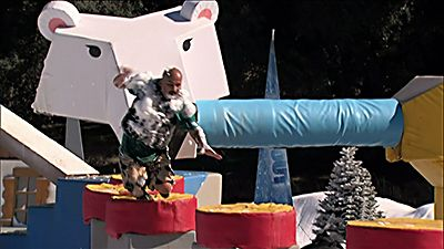 Winter Wipeout: Family Night, Kids Eat It for Free