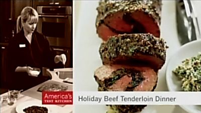 Holiday Beef Tenderloin Dinner