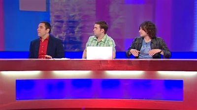 Peaches Geldof, Chris Addison, David Walliams, Alex Zane