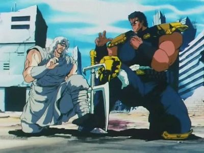 The Greatest Battle in History, Raoh vs. Ken! You're the One to Die!!