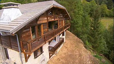 Les Gets, France: 300 Year Old Chalet