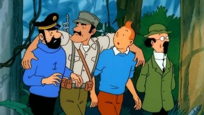Tintin and the Picaros (2)