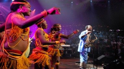 Femi Kuti with Positive Force