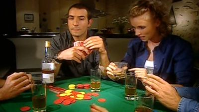 Jouent aux cartes