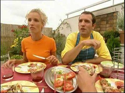 Brunchent avec Jeannette et Roger