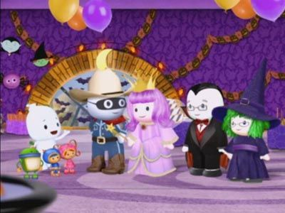 The Ghost Family Costume Party