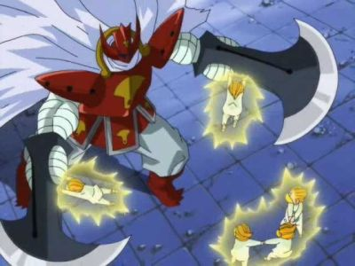 Buzarai's Fierce Attack. Dioga VS Baou. Reversal chain.