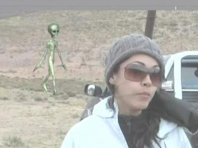 Dashcam Chupacabra & Nightly News Alien