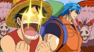 Arrival on Gourmet Island! The Gourmet Hunter Toriko Appears!