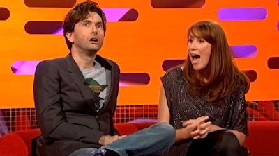 David Tennant, Catherine Tate, Jon Richardson, Josh Groban