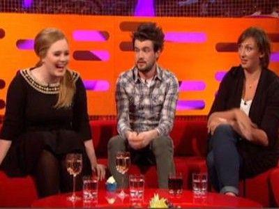 Miranda Hart, Jack Whitehall, Adele