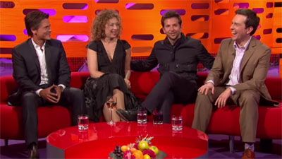 Bradley Cooper, Ed Helms, Rob Lowe, Alex Kingston, Aloe Blacc
