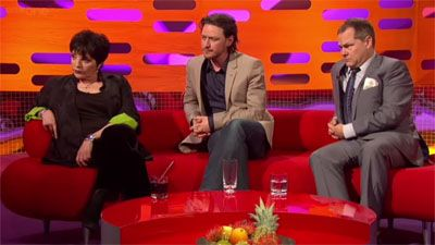 Jack Dee, James McAvoy, Liza Minnelli
