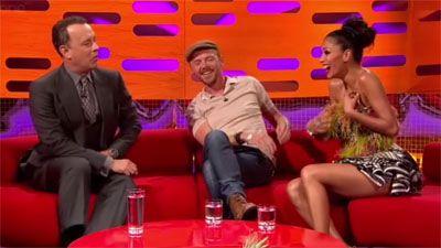 Tom Hanks, Simon Pegg, Nicole Scherzinger