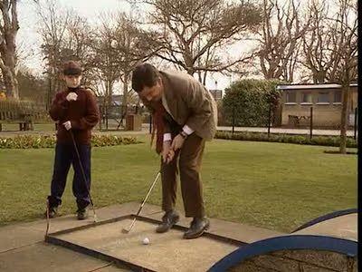 Tee Off, Mr. Bean