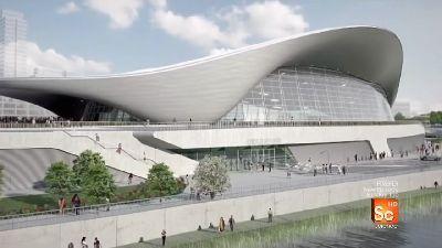 London's Olympic Aquatic Stadium