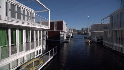 Amsterdam's Futuristic Floating City