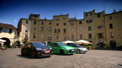 Hot Hatchbacks In Italy