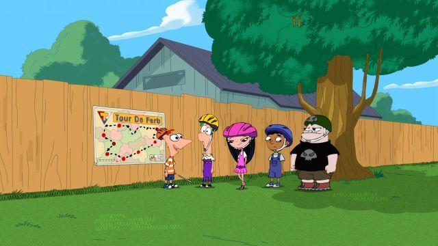 Tour de Ferb