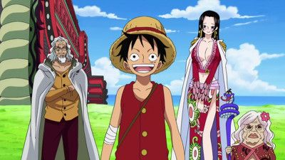 Luffy's Training Begins - Meet Up at the Promised Place in Two Years