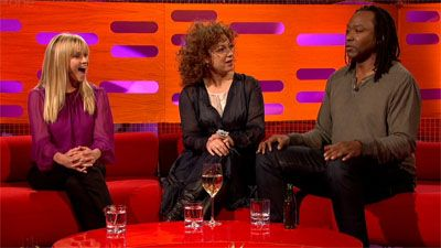 Reese Witherspoon, Reginald D Hunter and Alex Kingston