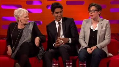 Dame Judi Dench, Dev Patel and Will Young