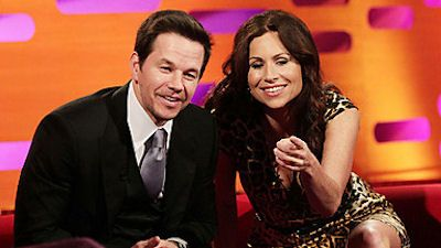 Mark Wahlberg, Minnie Driver, Mark Watson and Christina Perri