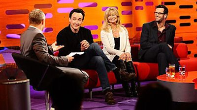 John Cusack, Goldie Hawn and Kasabian