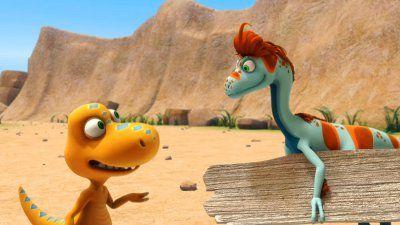 Buddy Explores The Tyrannosaurs