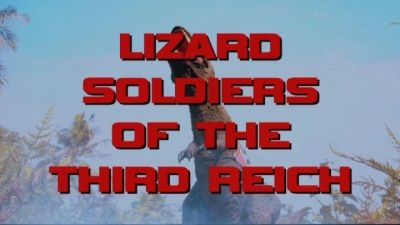 Lizard Soldiers of the Third Reich