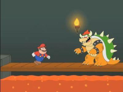 Super Mario Rescues the Princess