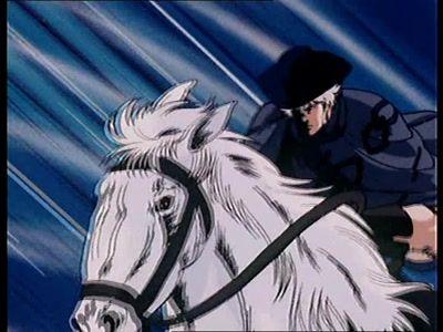 Rock, The Hero on Horseback! I Don't Believe in Kenshiro!!