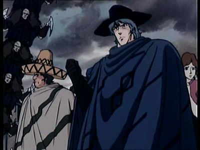 Men Beyond Reasons! The Band of Seven Attacks Kenshiro!!