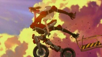 The Crimson Iron Horse