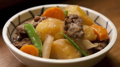 Nikujaga (Meat & Potato Stew)