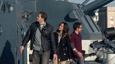 Battleship Ghost & Scouting UFO