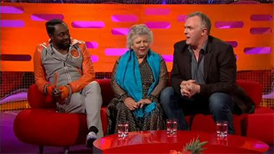 will.i.am, Greg Davies, Miriam Margolyes, Adam Lambert
