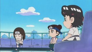 A Competition with the Genius Ninja, Neji / Tenten's Must-Win Battle